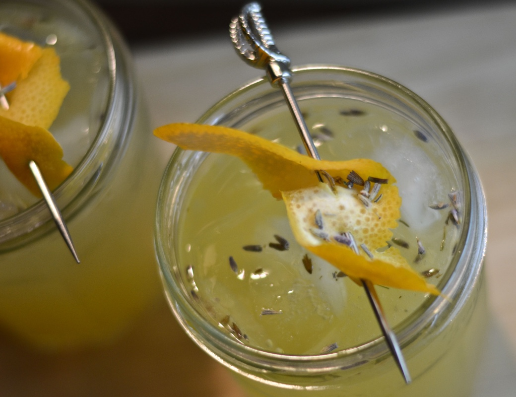 Meyer Lemon and Lavender Tom Collins | Garden Cocktails