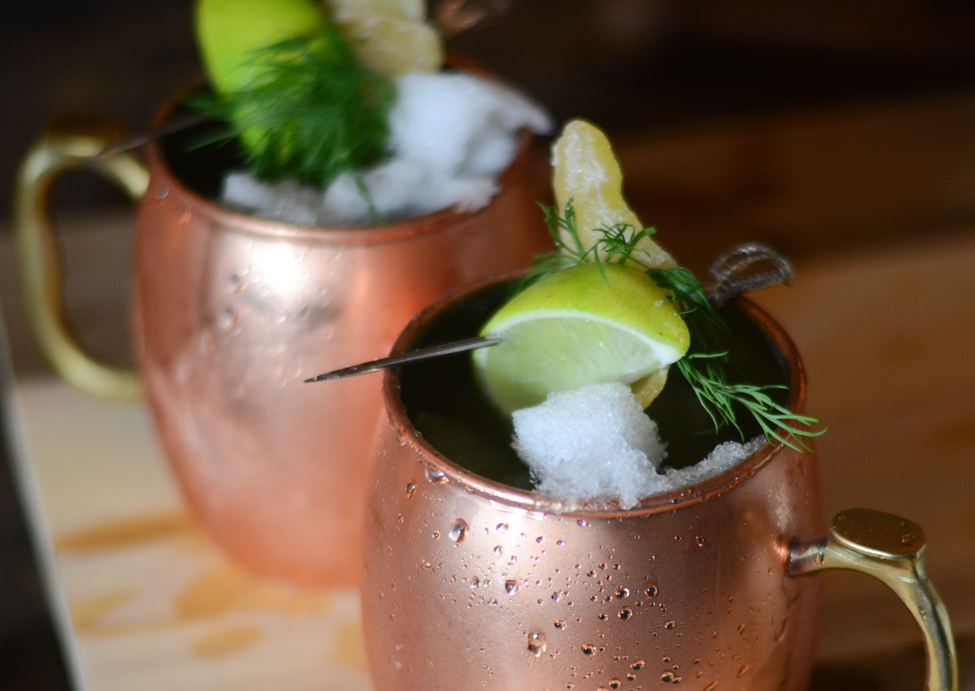 dill moscow mule