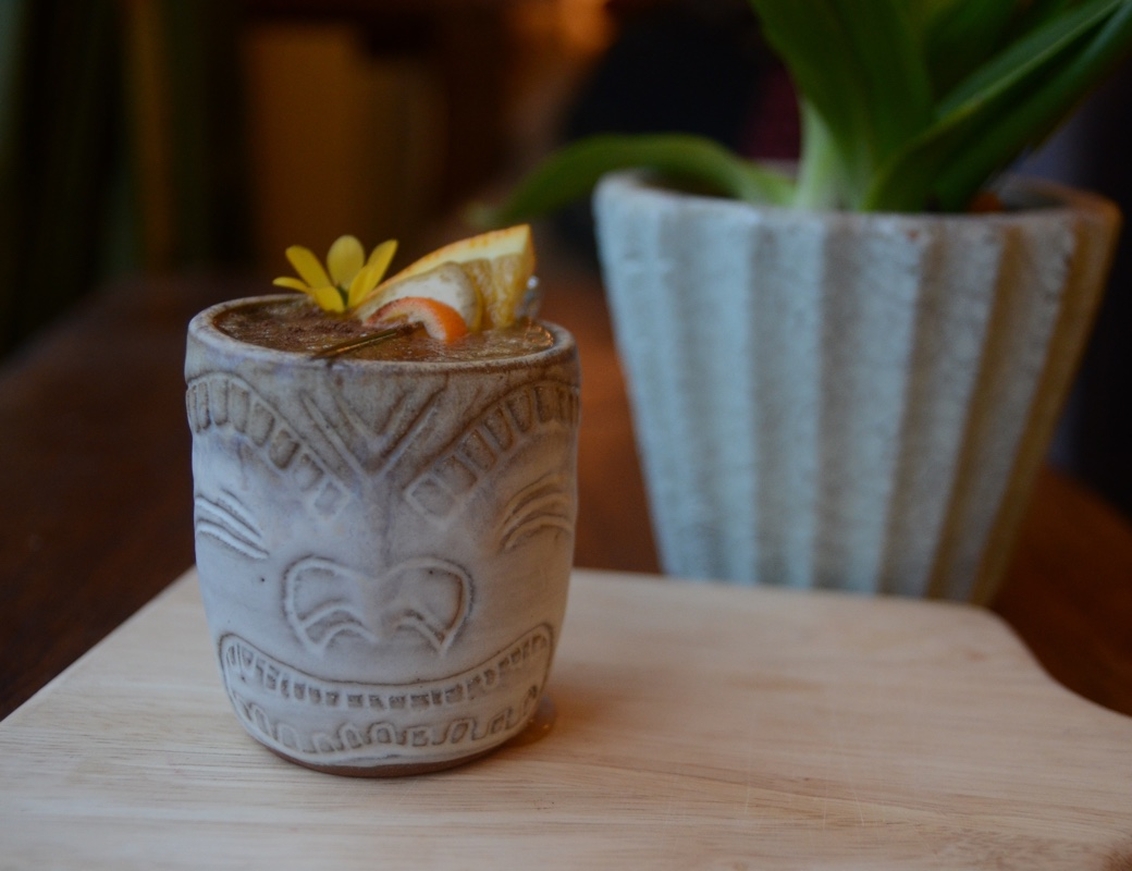 Rum Tiki cocktail from Jeff Beachbum Berry's Sippin Safari!