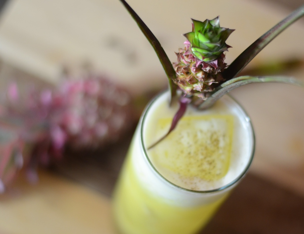 pineapple rum velvet falernum cocktail