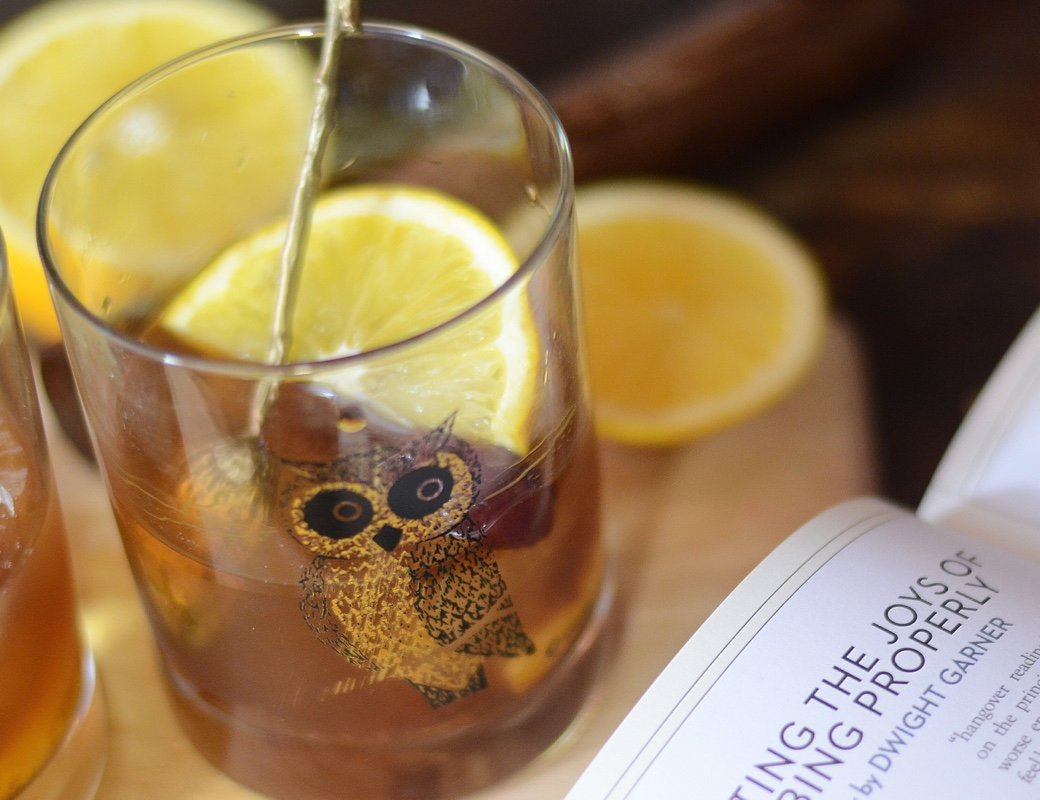 alpine manhattan cocktail