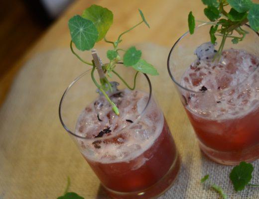 horseradish pomegranate margarita