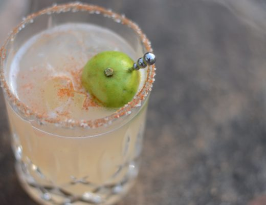 garden cocktails key lime margarita