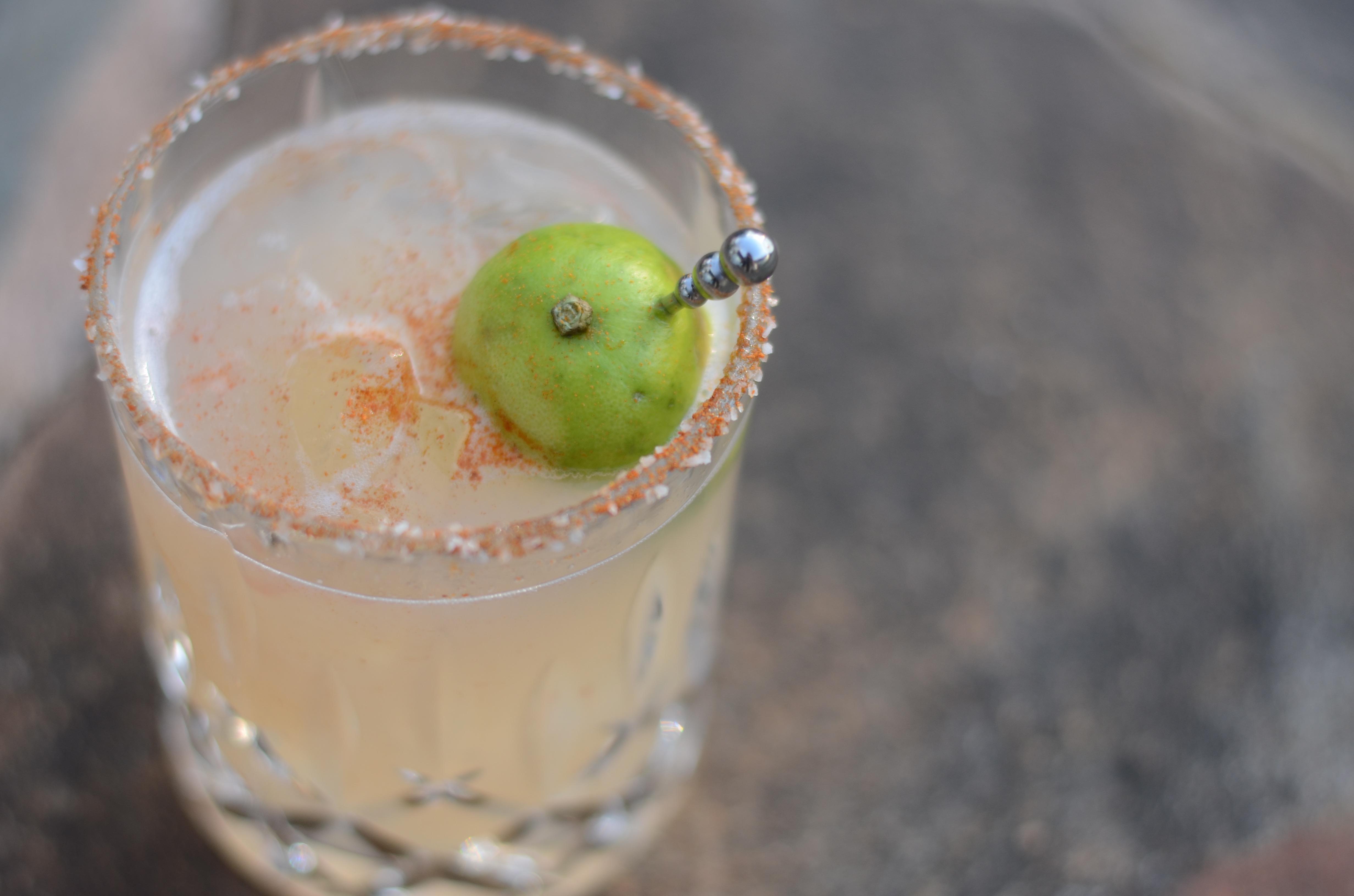 garden cocktails key lime margarita