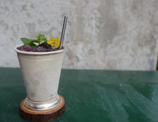 Derby Cocktail: Blackberry Mint Julep