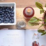 blueberry lavender shrub